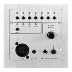 Panel de control en pared de 6 zonas, para A-8240X