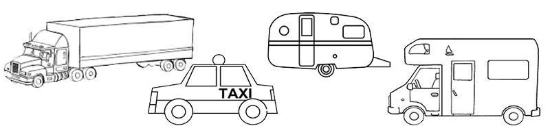 grabación de vehículos