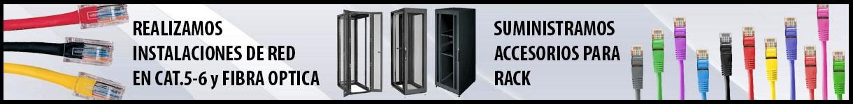 Instalación, saneamiento, traslado y modificación, de armarios rack y equipos de red
