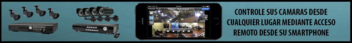 Instalación y mantenimiento de equipos de vigilancia, analógicos y digitales.