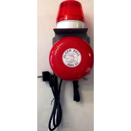 Timbre Telefónico de Alta sonoridad con aviso luminoso