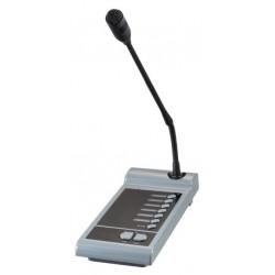 Pupitre microfónico de control de 6 zonas para A-8240X